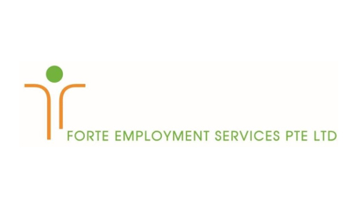 Logo of Forte Employment Services Pte Ltd hiring for jobs in Singapore on GrabJobs